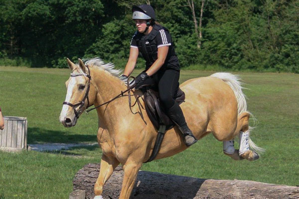 A Penistone and District Riding Club event
