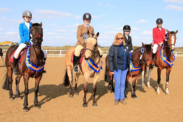 Members of the Penistone and District Riding Club